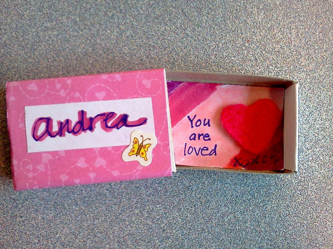 Tiny Coping Boxes Kids Decorate A Matchbox And Put A