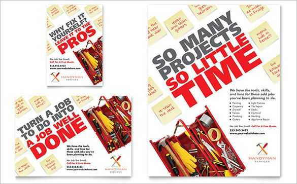 13+ Best Handyman Flyer Templates \ Designs! Free \ Premium - advertisement flyer maker