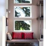 Simple Rest Area Near The Window Crenshaw Small, Minimalist And Modern Home Design 1151 Crenshaw By Jordan Iverson