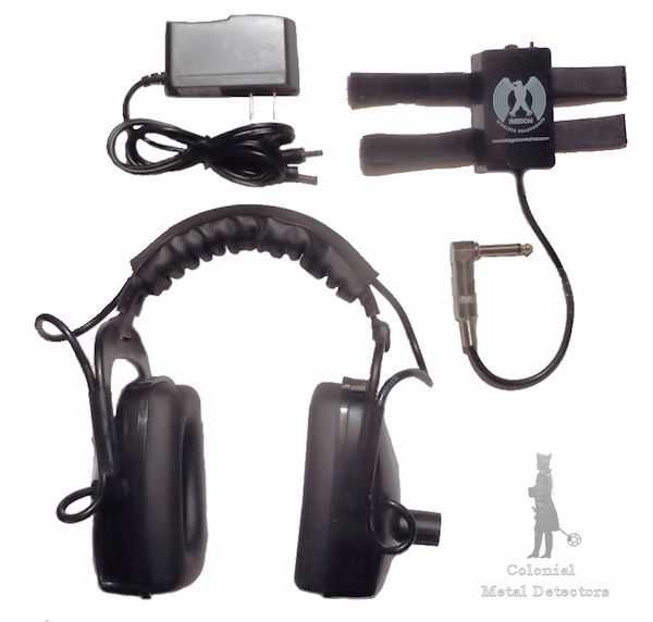 Freedom Wireless Headphones - Colonial Metal Detectors
