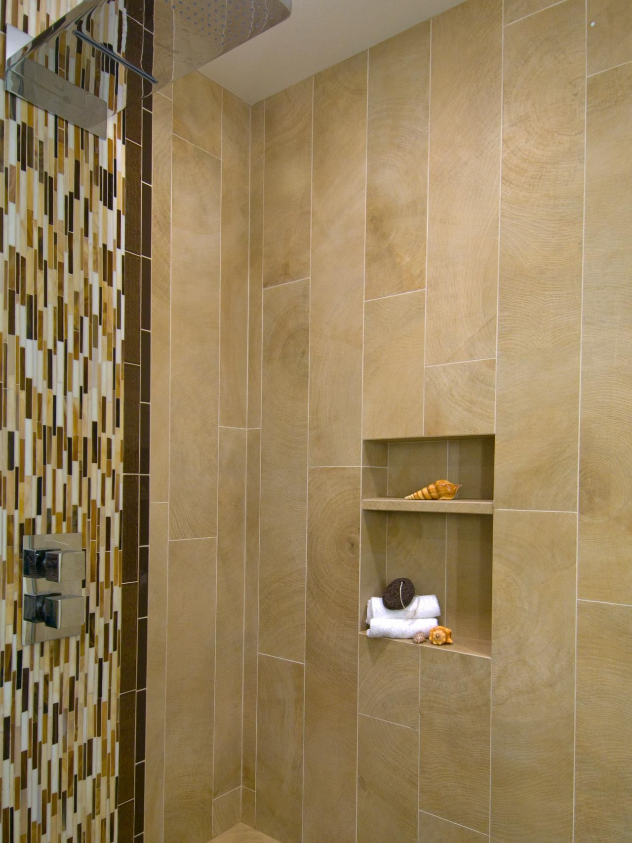 8x24 tile stacked vertical in shower - Google Search | Bathing ...