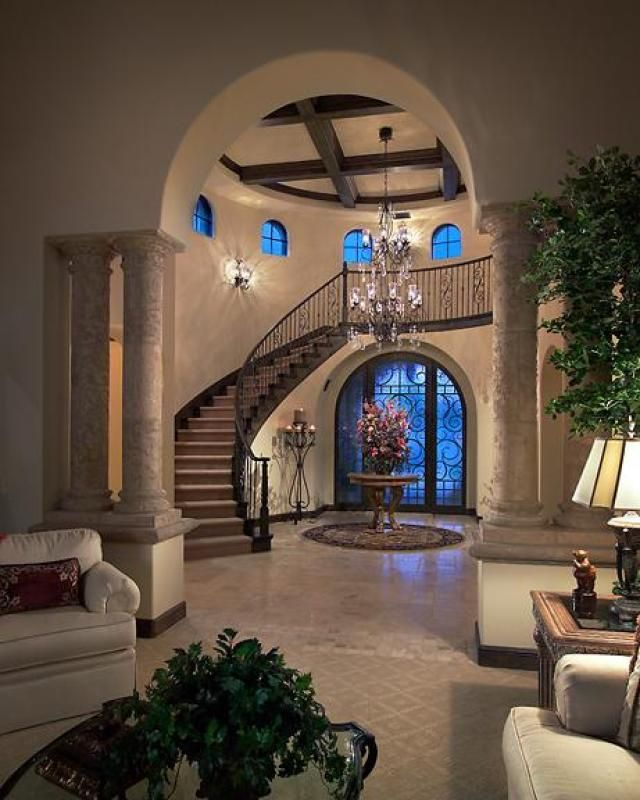 Foyer Grand Large : Best foyer staircase ideas on pinterest curved