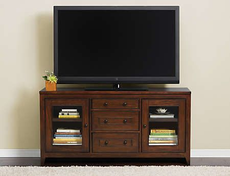 Chocolate 60 Console Art Van Furniture Great Room Ideas