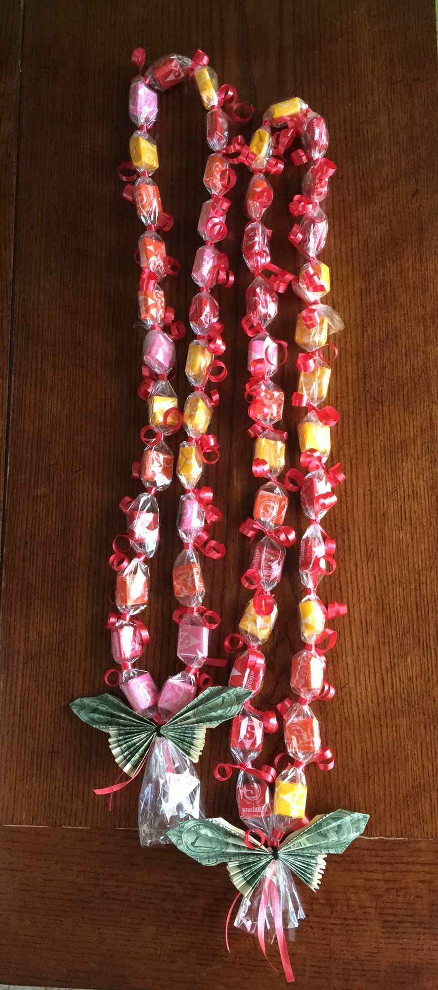 Starburst candy leis graduation candy leis pinterest candy graduation gifts buycottarizona Gallery