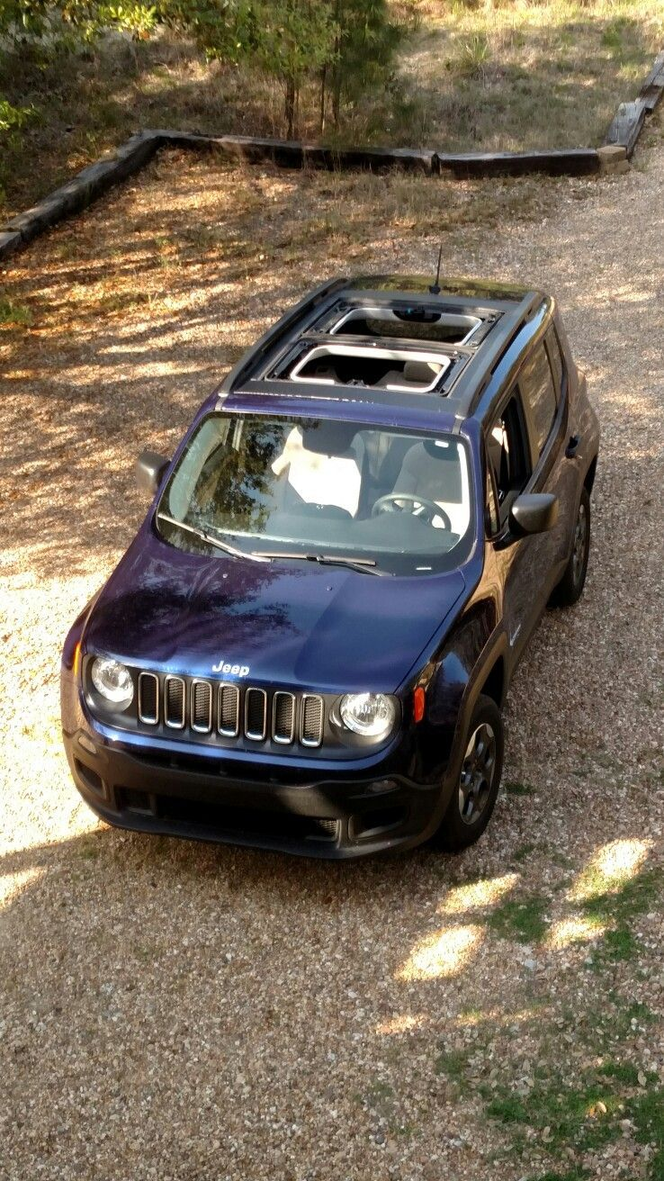Jeep Renegade My Sky Removable Roof Jeep Renegade Jeep