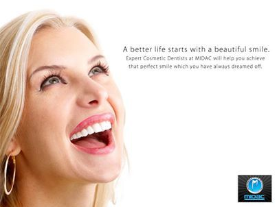 A Better Life Starts With A Beautiful Smile Expert Cosmetic Dentists At Midc Will Help You Achieve That Perfect Smile Perfect Smile Cosmetic Dentist Dentist