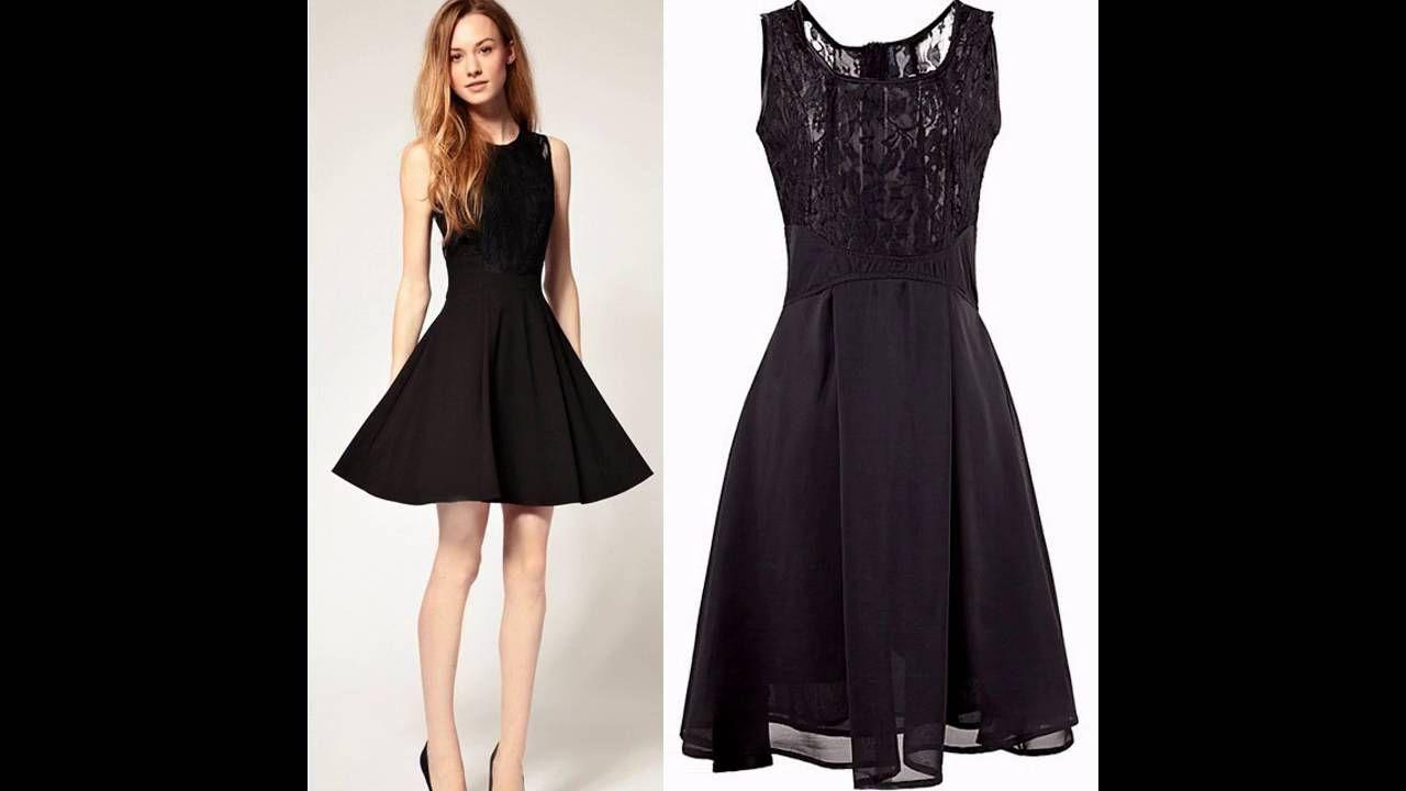 Vestidos negros de moda