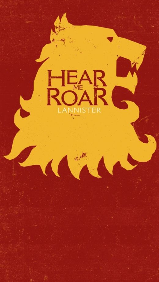 Game Of Thrones House Lannister Free Hd Iphone 5 S C
