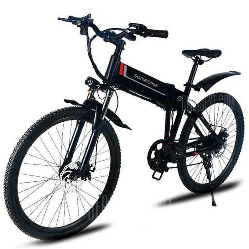 fc0be42b2e9 Just $832.47, buy Samebike LO26 Smart Folding Bike Moped Electric Bike E-bike  online shopping at GearBest.com Mobile.
