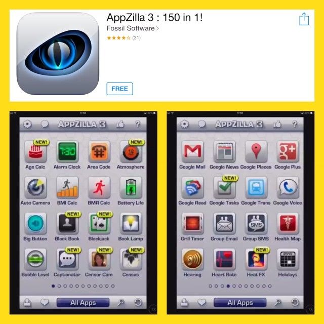 .@appsfun | Here is a collection of apps in one. Very useful and there is bound to be a s... | Webstagram