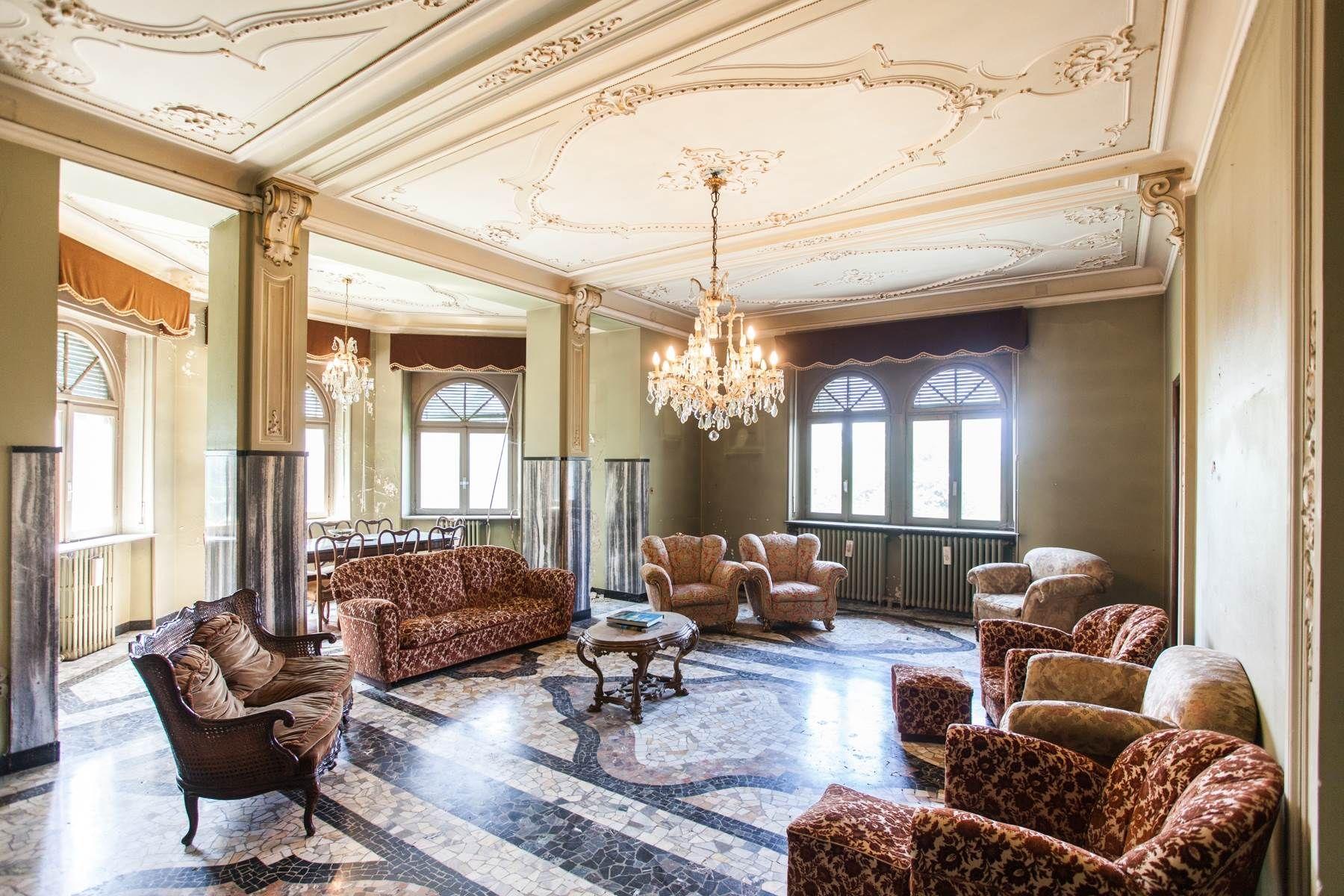 Marvelous villa in liberty style Brunate Como Italia