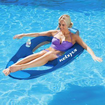 Kelsyus Deluxe Floating Lounger Floating Lounger Enjoy Summer