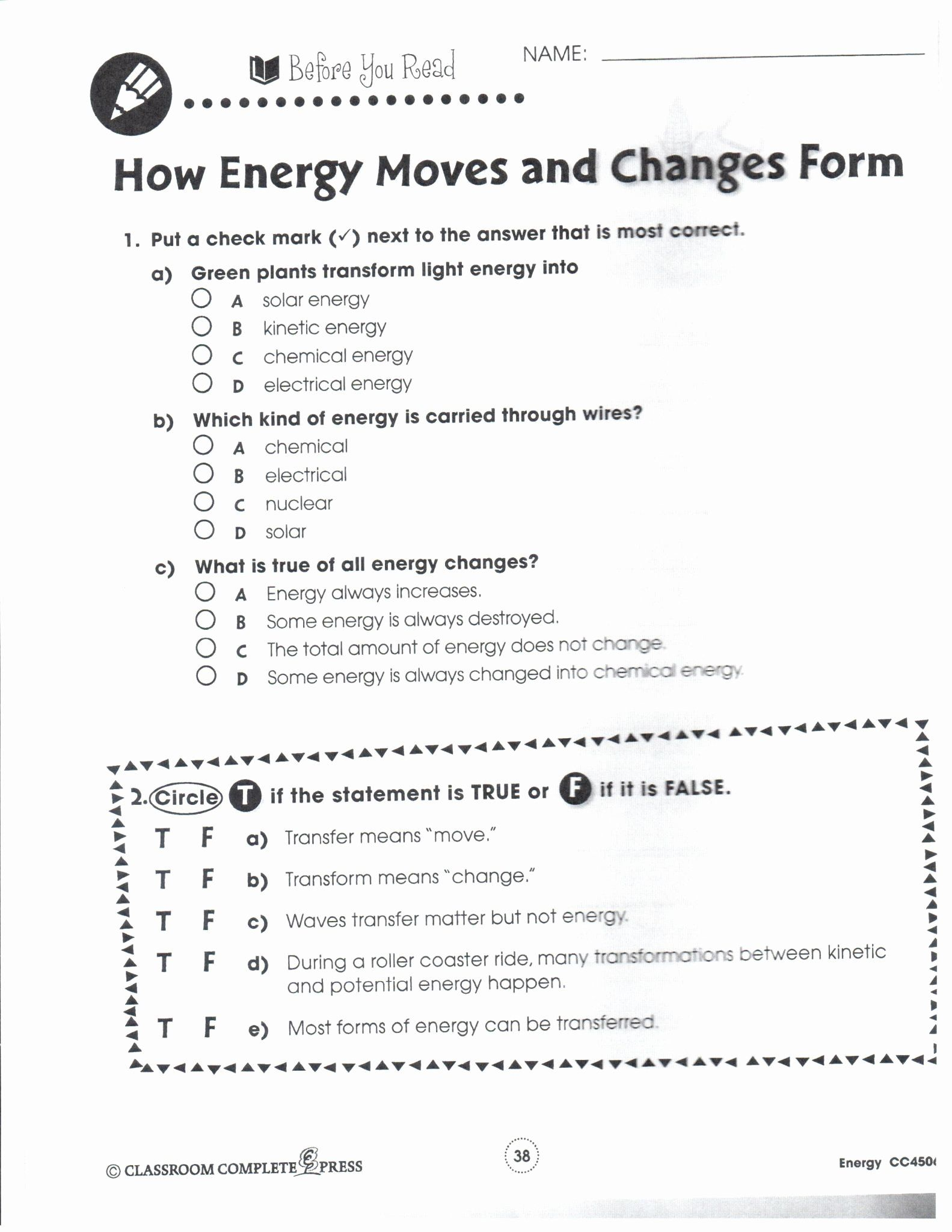 Genetics Worksheet Middle School Fresh Making It As A Middle School Teacher Going Green Chessmuse In 2020 Chemistry Worksheets Potential Energy Work Energy And Power