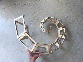 Curling Spiral Kinetic Sculpture : 6 Steps - Instructables