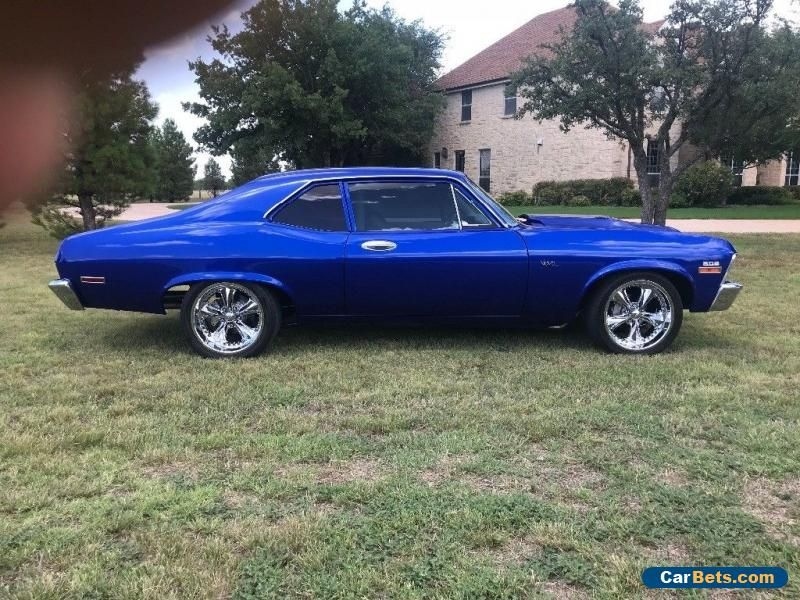 Car For Sale 1969 Chevrolet Nova Classic Cars Muscle Cars For