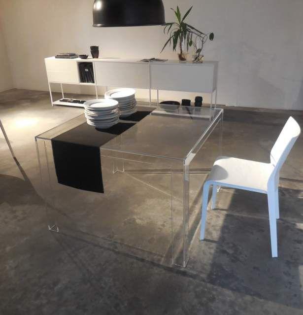 Tavolo Cucina Kartell.Tavolo Kartell Invisible Design X Cucina A Milano