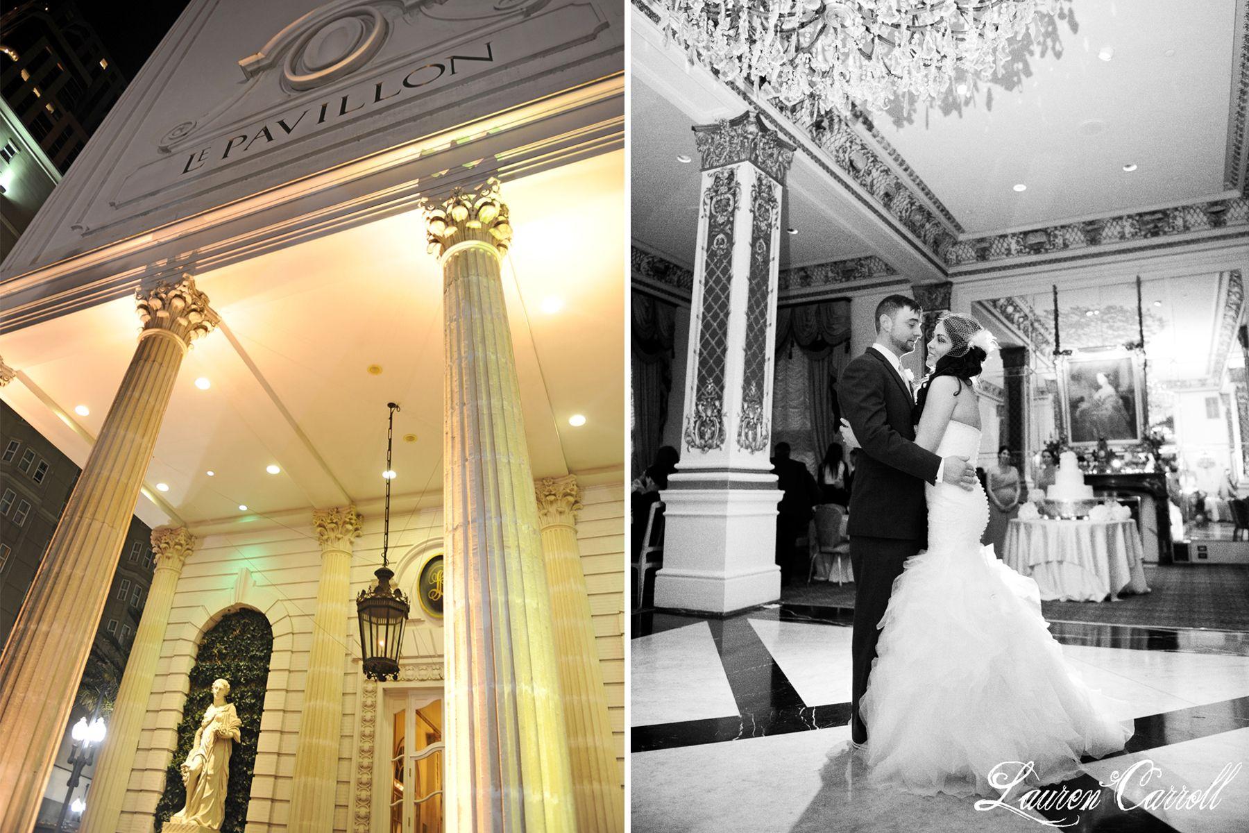 Lauren Carroll Photography Laurencarrollphotography New Orleans Wedding Venue Hotel Le Pavillon