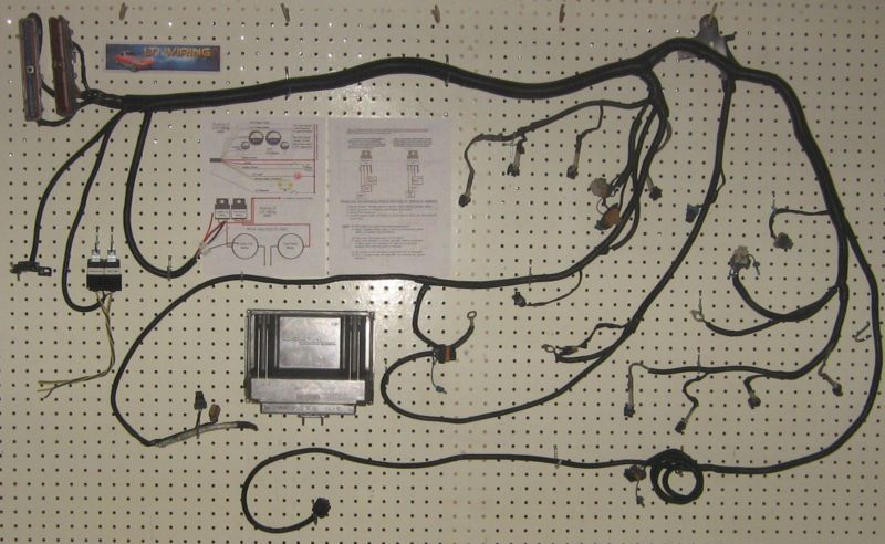 Ls wiring harness standalone schematic diagrams