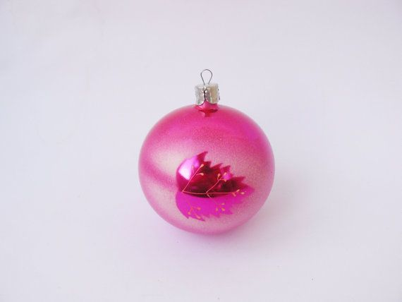 """Violet Christmas ball with a picture, purple Christmas toy, pink Christmas decor, red Christmas decor, Christmas ornament with picture  Size: height cm =""""         It will b... #etsy #etsy #vintage #gift #nostalgishop"""