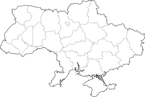 Map Of Ukraine Coloring Page Free Printable Coloring Pages Free Printable Coloring Pages Coloring Pages Printable Coloring Pages