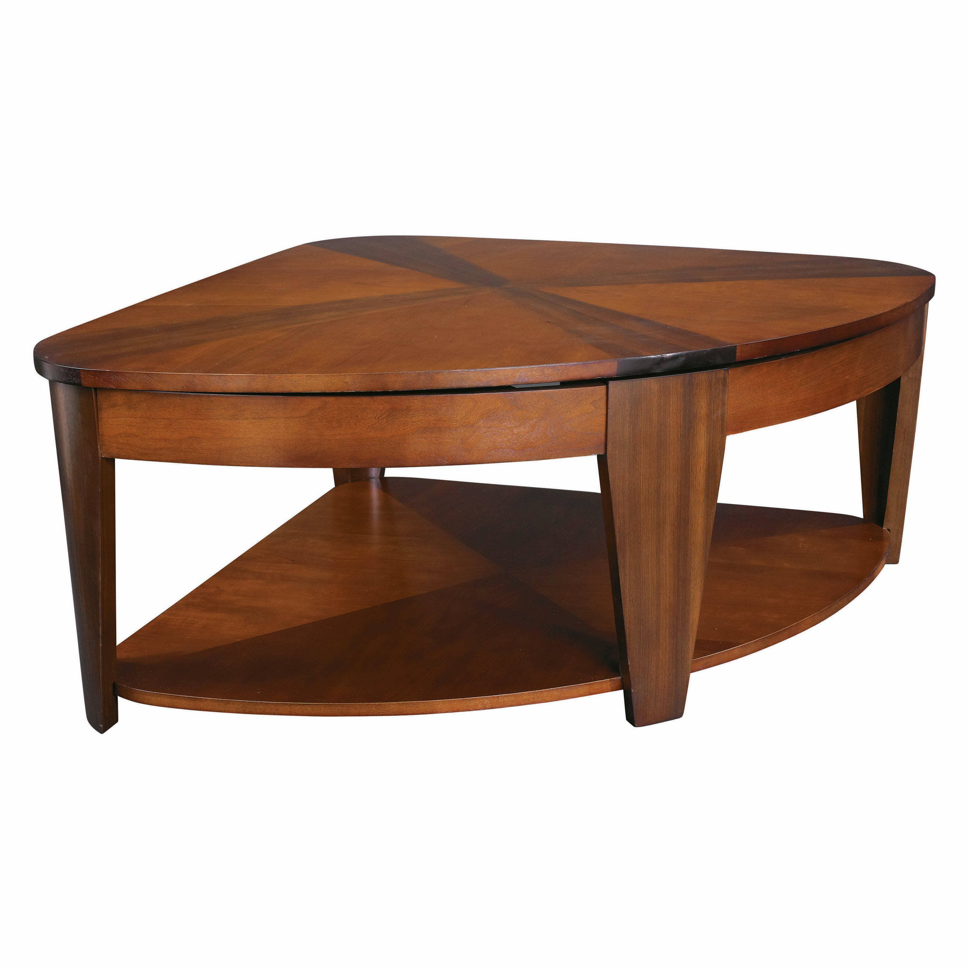 Hammary Oasis Wedge Lift Top Coffee Table From Hayneedle Com