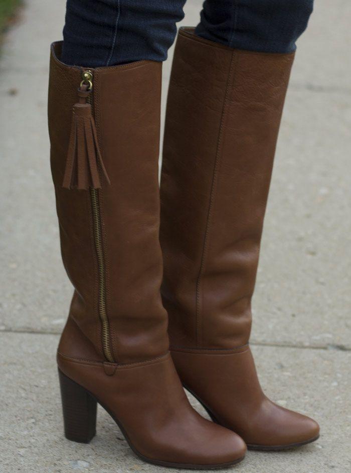 Coach boots ... cute tassel!