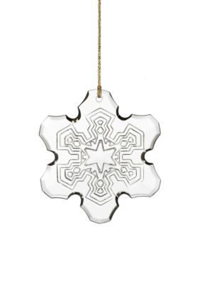 Marquis by Waterford  2015 Annual Snowflake Ornament