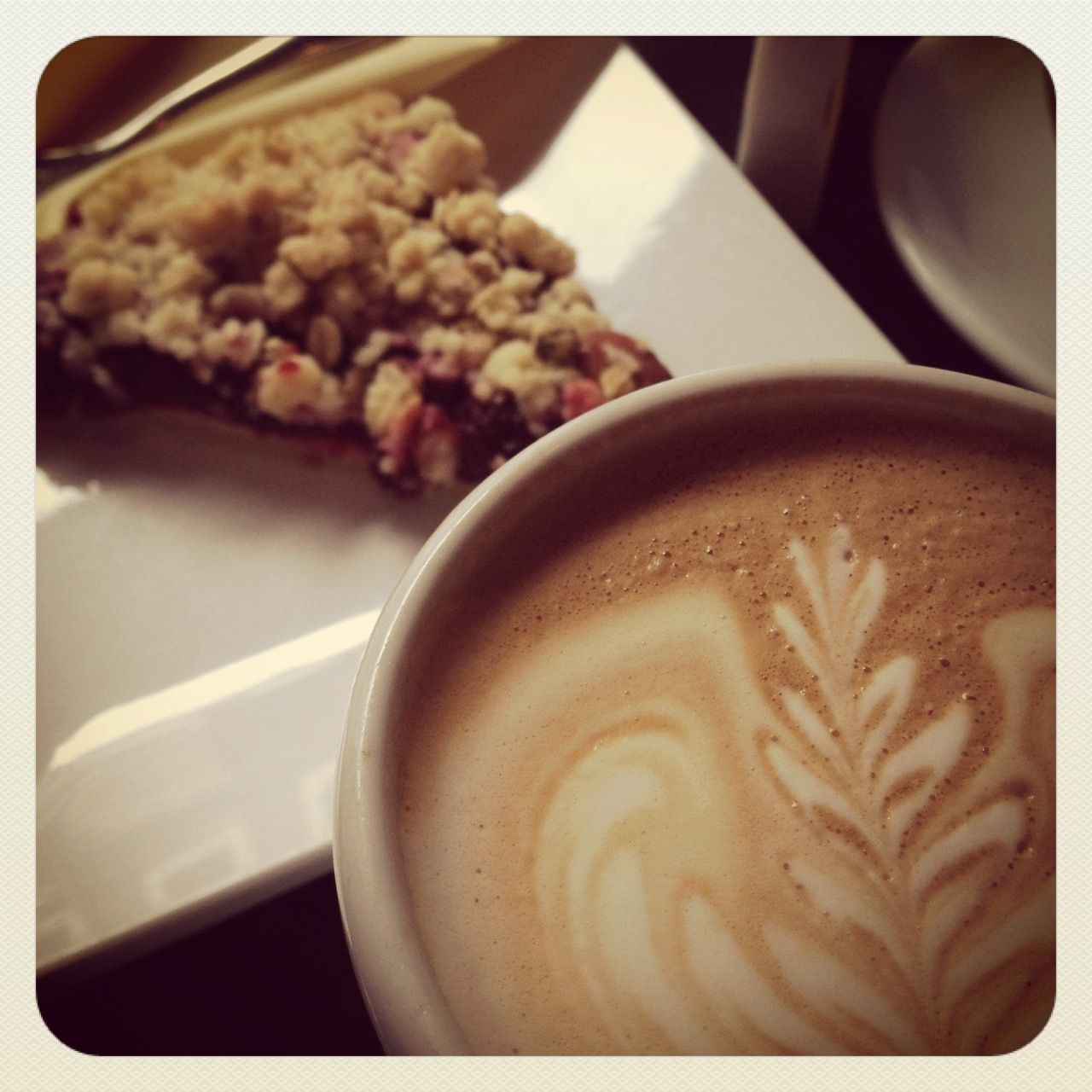 Coffee and cake... From Coffeecompany !
