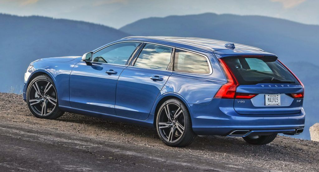 2020 Volvo V90 Has The Best Residuals In Its Class Wins An Award For That Carscoops In 2020 Volvo Wagon Volvo Volvo Cars