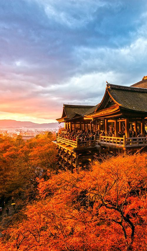 A Buddhist temple in Kyoto, Kiyomizu-dera was one of 21 finalists for the New Seven Wonders of the World #Japan