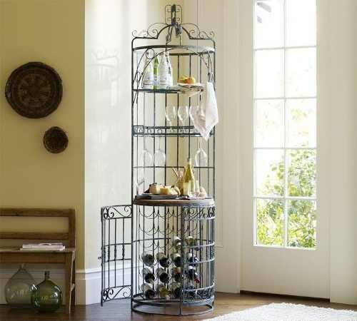Muebles hierro forjado decoracionde interiores vineros - Muebles de hierro forjado ...