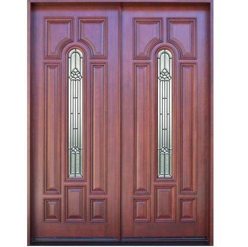 Main double door hpd329 main doors al habib panel for House main double door designs