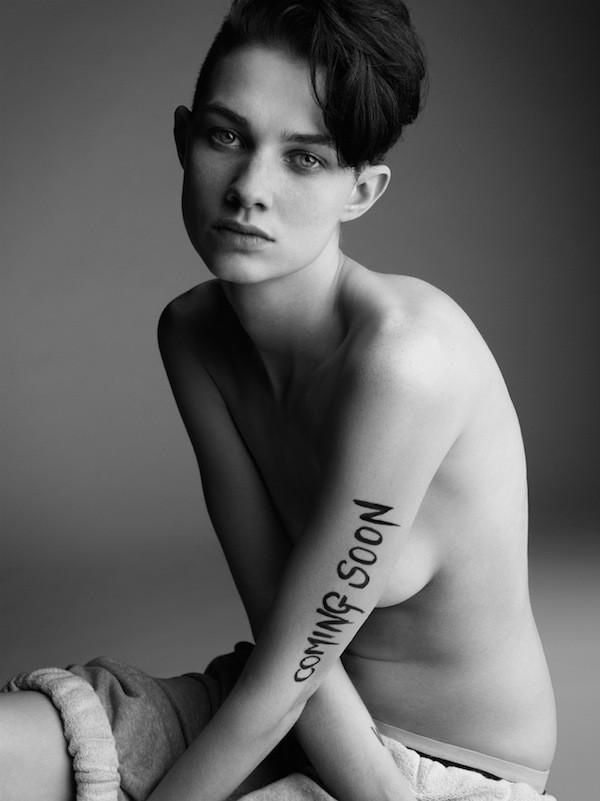 Androgynes Junges Girl