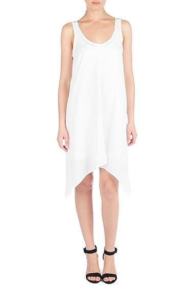 AG Tank Handkerchief Dress - Antique White http://www.agjeans.com/Tank_Handkerchief_Dress__Antique_White/pd/np/11/p/7949.html