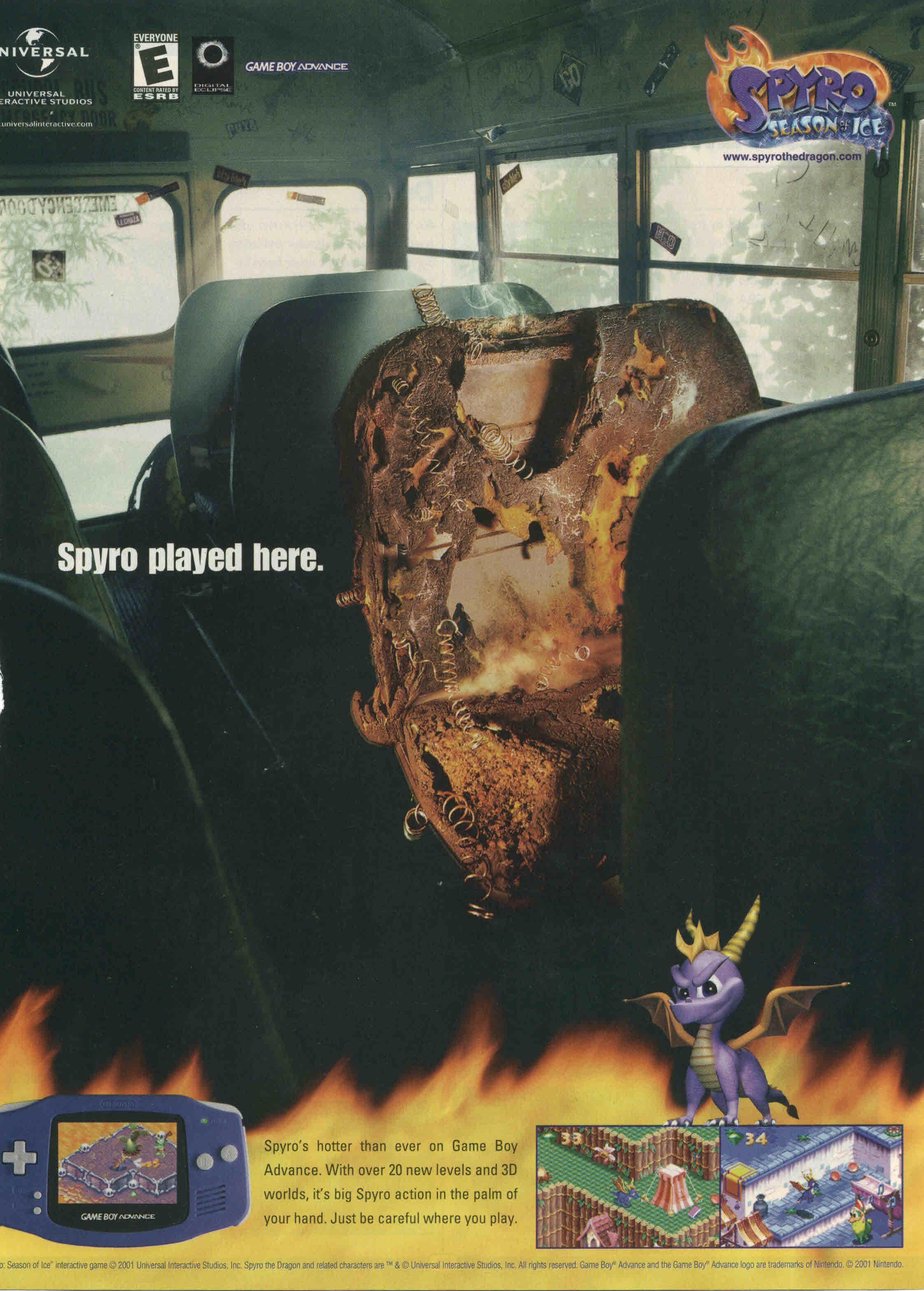 Spyro (School Bus) School bullying, Ads, Seasons