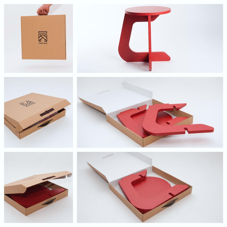 The Stool Is Delivered Disassembled In A Pizza Box Type Llega A Tu Casa En Una Caja Tipo Piz Limpieza De Muebles Muebles Para Armar Carpinteria Y Ebanisteria