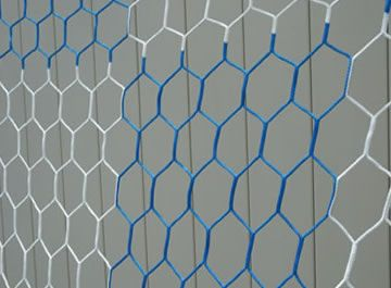 8 X24 3mm Hexagonal Box Soccer Nets Keeper Goals Your Athletic Facility Equipment Experts Fashion Box Blue And White Red And White