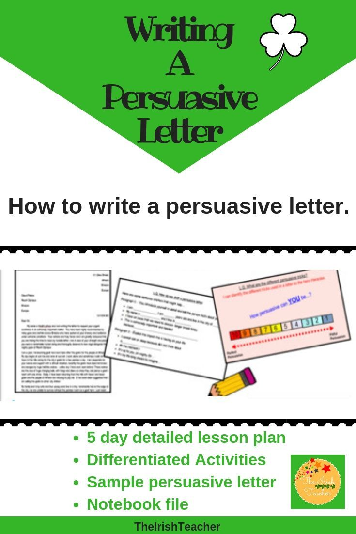 24++ How to write a persuasive letter to a teacher trends
