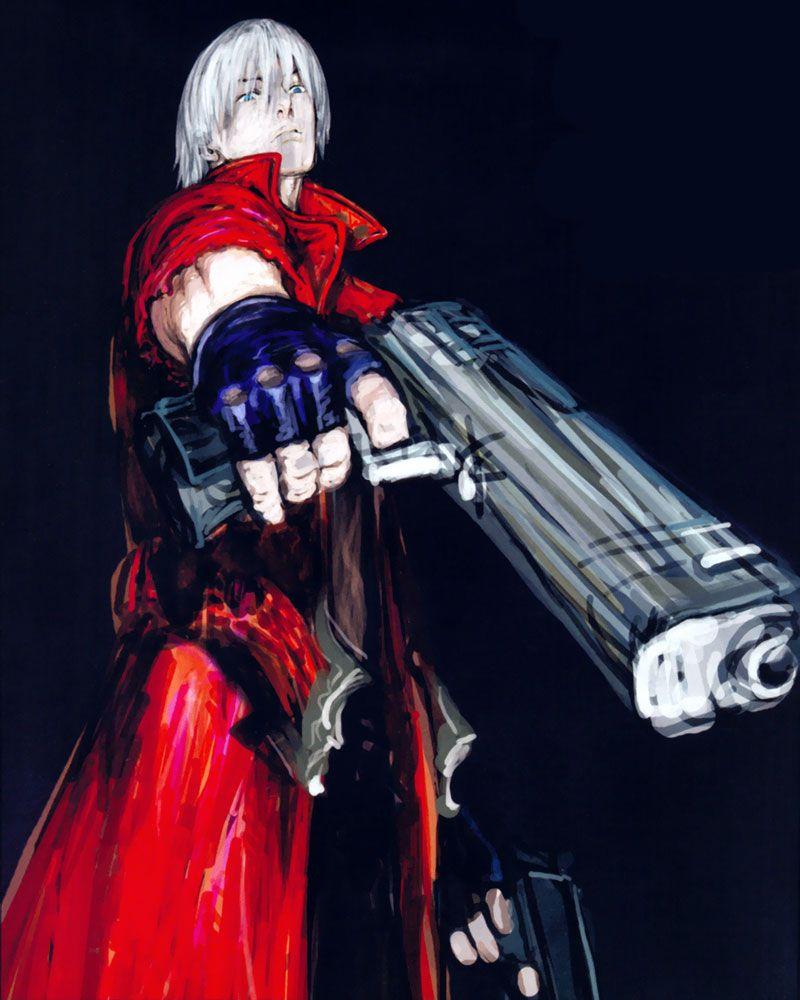 Dante Concept Personagens Masculinos Personagens Anime