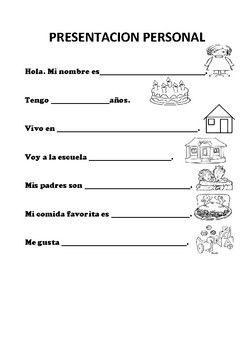 5th Grade Math Place Value Worksheets Excel Presentacion Personal  Introducing  Spanish Language And Worksheets Print Kindergarten Worksheets with Cartesian Coordinate Plane Worksheets Word Explore Spanish Worksheets School Resources And More Basic Worksheet  Counting Worksheet Preschool