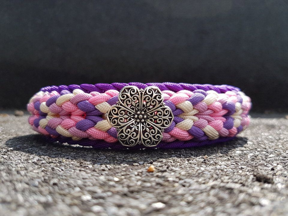 Luna's painted Daisy   Swiss Paracord