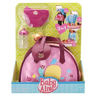 Baby Alive Diaper Bag Baby Alive Real Surprises Baby