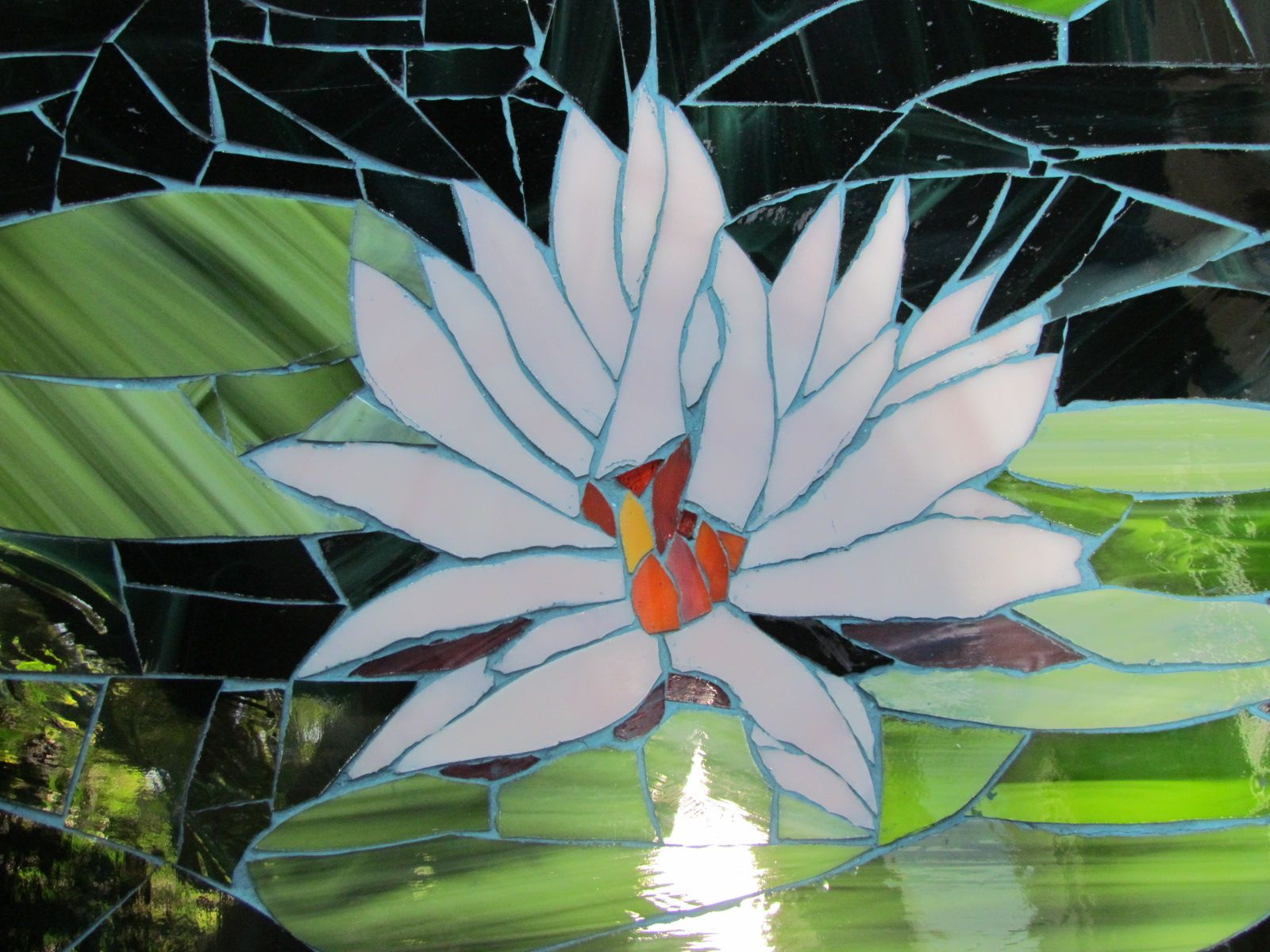 Flor De Loto Mosaico Pinterest