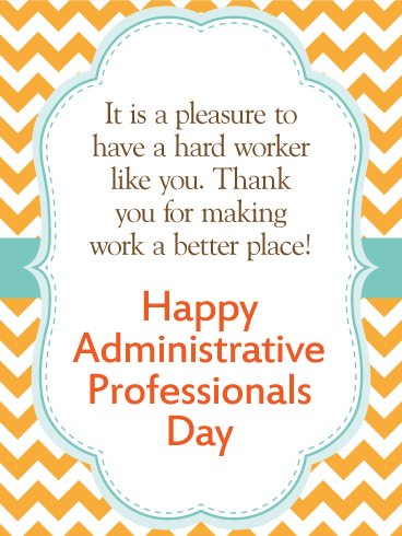 We Are Thankful Happy Administrative Professionals Day Card Birthday Greeting Cards By Davia Administrative Professional Day Administrative Professionals Gifts Administrative Assistant Gifts