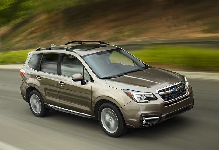 This Week Subaru Announced That Its 2017 Forester Compact Crossover Suv Will Be Updated With Refreshed Styling New Drive Subaru Forester Subaru Crossover Suv
