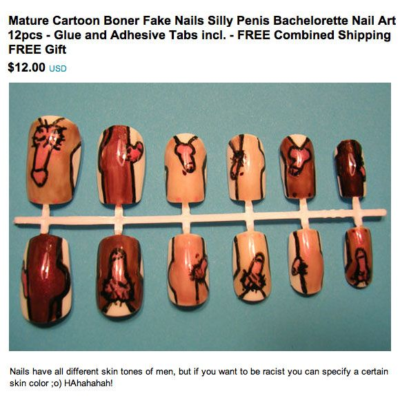 These Are Kind Of Awesome Hilarious Nails Nail Length Nail Art