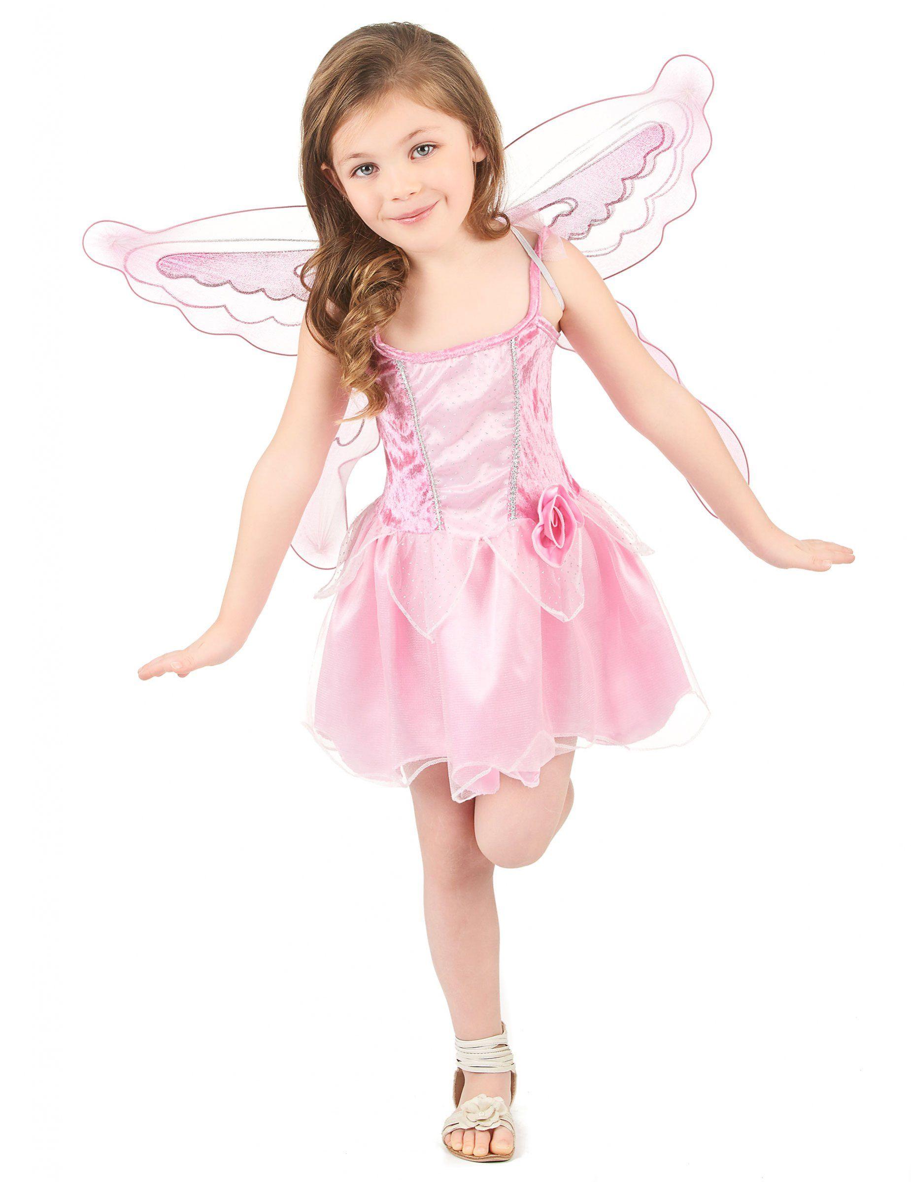 Disfraz hada mariposa niña | Disfraz hada, Disfraz de hades y Color rosa