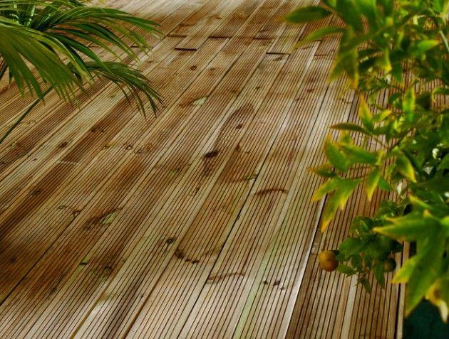 Nettoyer sa terrasse en bois Terrasse Pinterest Garden - Nettoyage Terrasse Carrelage Exterieur