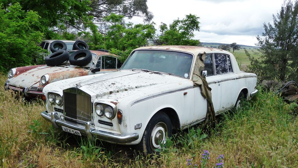 The Cars You Wished You Saved Abandoned Cars Rolls Royce Junkyard Cars
