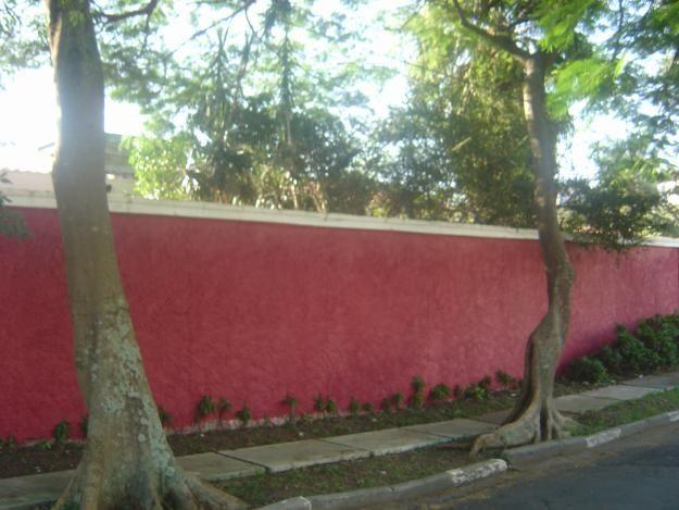 Tinta para muro chapiscado